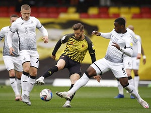 Watford 2-0 Swansea: Gray, Success score for promoted Hornets