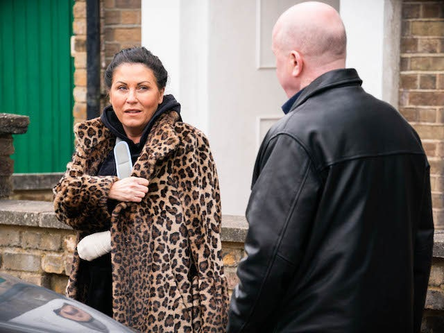 Kat and Phil on EastEnders on May 24, 2021