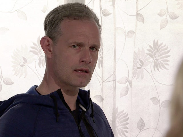 Nick on the first episode of Coronation Street on May 24, 2021