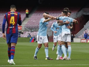 Barcelona 1-2 Celta Vigo: Koeman's side see title hopes end