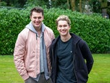 Curtis Pritchard and AJ Pritchard as Jacob and Marco in Hollyoaks