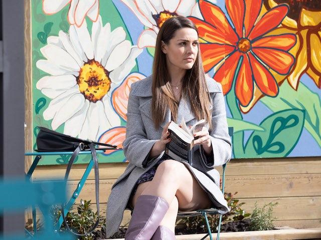 Sienna on Hollyoaks on May 25, 2021