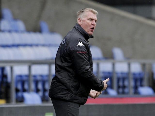 Dean Smith not surprised by Aston Villa's improvement