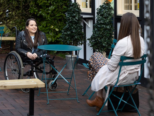 Courtney on Hollyoaks on May 24, 2021