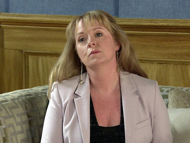 Jenny on the second episode of Coronation Street on May 24, 2021