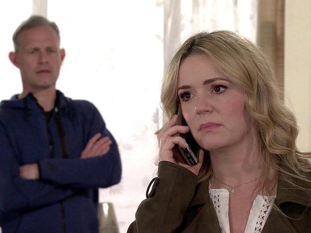 Natasha on the first episode of Coronation Street on May 24, 2021