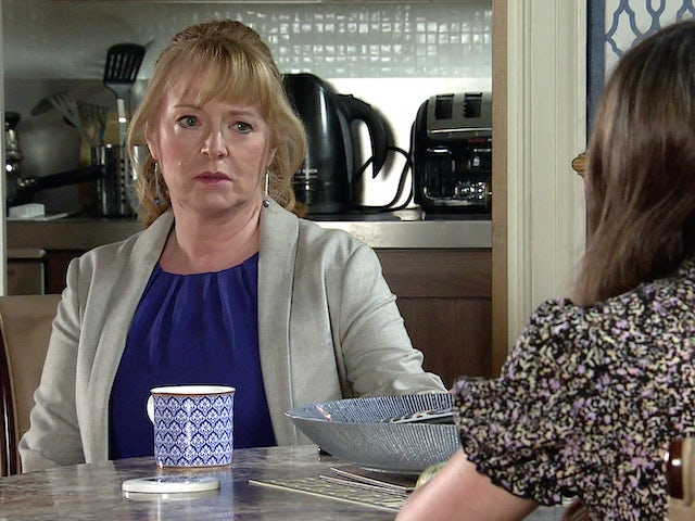 Jenny on the second episode of Coronation Street on May 26, 2021