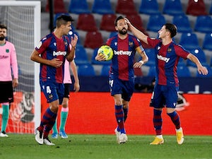 European roundup: Barca held by Levante, Napoli thrash Udinese