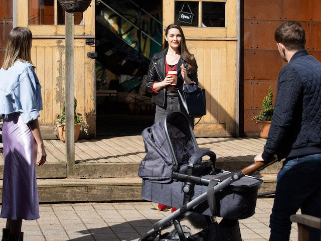 Summer, Sienna and Brody on Hollyoaks on May 26, 2021