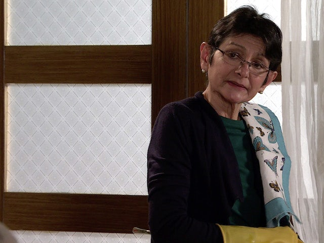Yasmeen on the first episode of Coronation Street on May 24, 2021