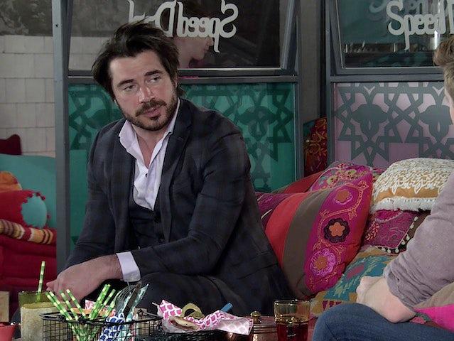 Adam on Coronation Street on May 28, 2021