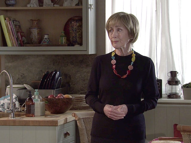 Elaine on the first episode of Coronation Street on May 26, 2021