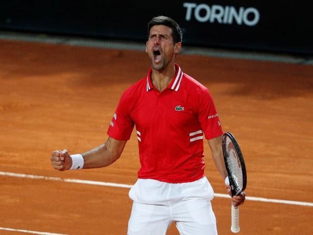 Novak Djokovic advances to Italian Open final with Rafael Nadal