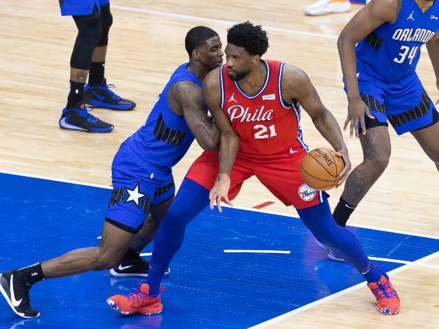 NBA roundup: 76ers take top seed with victory over Magic