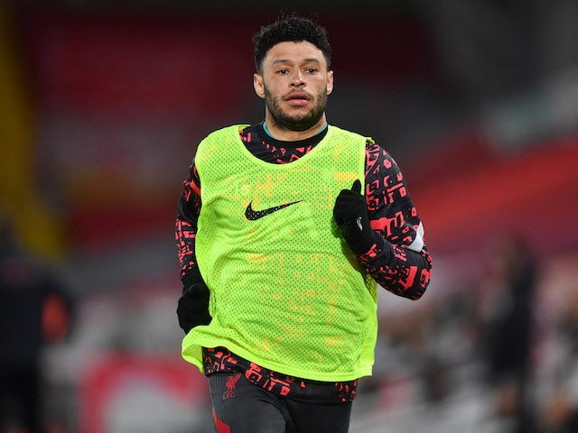 Liverpool's Alex Oxlade-Chamberlain pictured on May 8, 2021