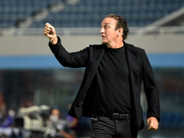 Atletico Mineiro coach Cuca during the match on May 19, 2021