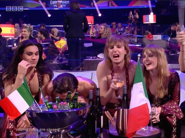 Eurovision winner denies snorting cocaine live on TV