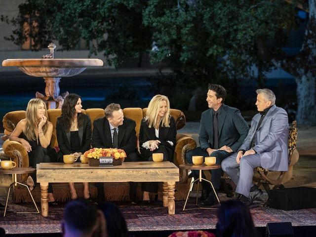 Friends reunion episode draws 1.7 million in UK