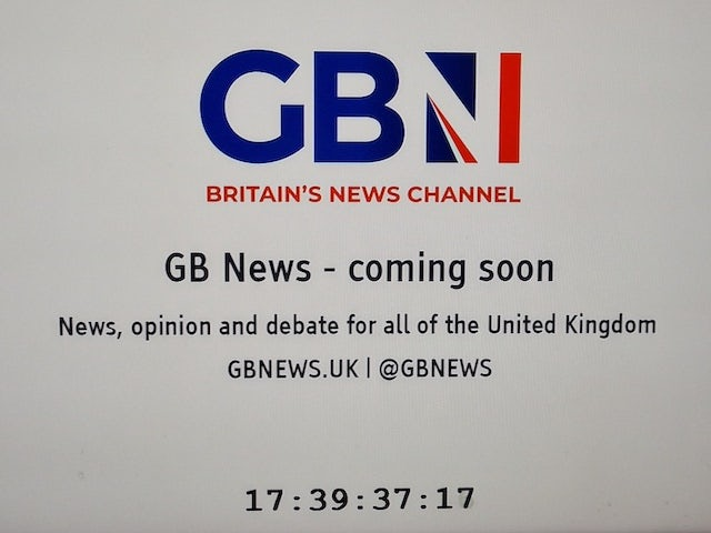GB News placeholder goes live on Sky ahead of launch