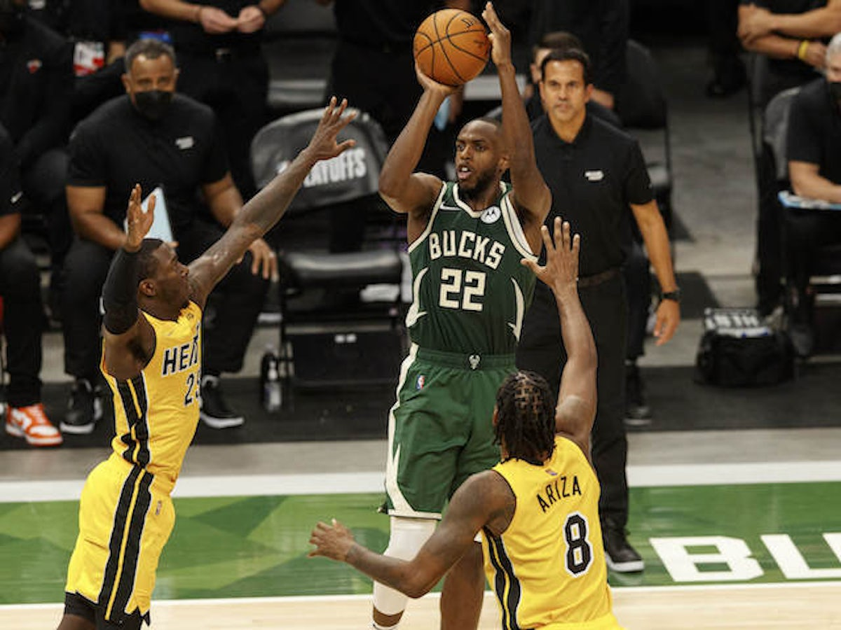 NBA roundup: Khris Middleton secures late win for Milwaukee