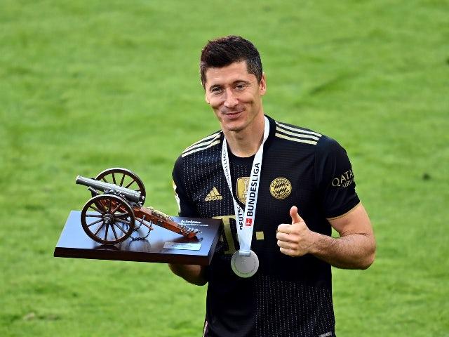 Robert Lewandowski named European Player of the Season