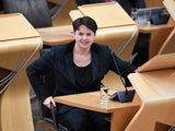 Ruth Davidson pictured in Holyrood on January 13, 2021
