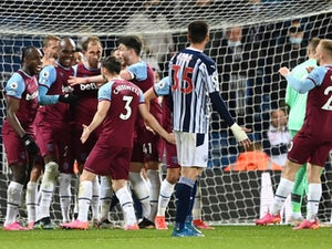 West Brom 1-3 West Ham: Hammers on brink of Europa League spot