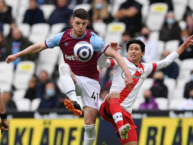Manchester United 'lining up move for Declan Rice'
