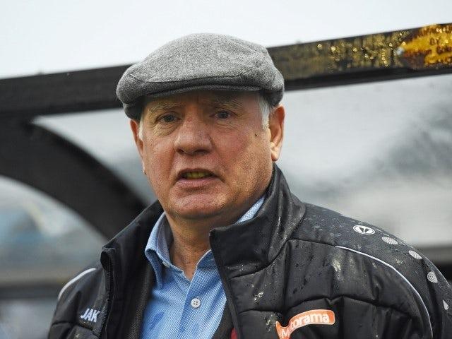 Alan Devonshire, Maidenhead United manager in November 2019