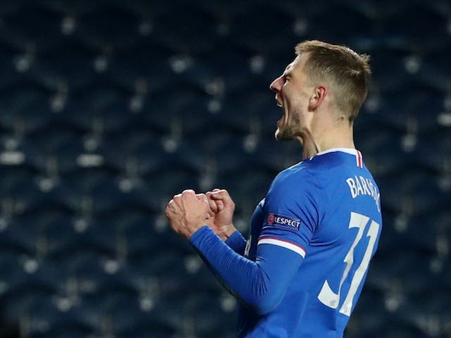 Rangers Borna Barisic pictured in February 2021