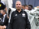 New England Revolution head coach Bruce Arena on May 8, 2021