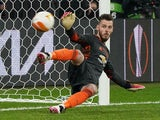Manchester United's David de Gea pictured on May 26, 2021
