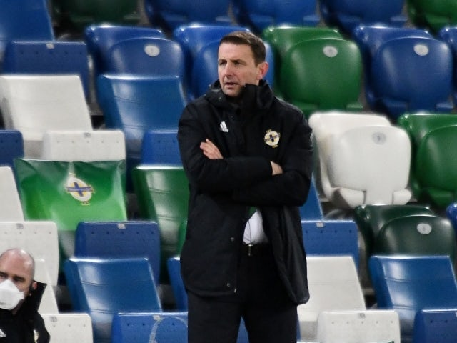 Northern Ireland manager Ian Baraclough on March 31, 2021