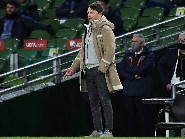 Luxembourg-trener Luke Holts 27. mars 2021