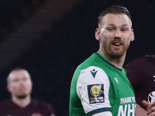 Hibernian's Martin Boyle pictured in October 2020