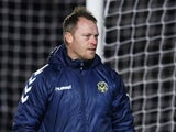 Newport County manager Michael Flynn in January 2021