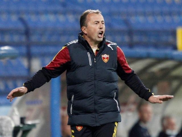 Montenegro -trener Myotrok Radulovic 30. mars 2021