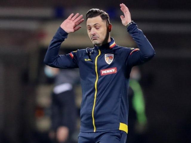 Antrenorul României Miriel Radoi la 31 martie 2021