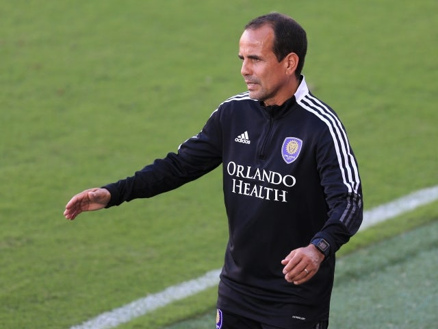 Orlando City head coach Oscar Pareja on May 8, 2021