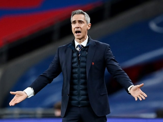 Poland manager Paulo Sousa on March 31, 2021