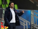 France under-21 coach Sylvain Ripoll on March 25, 2021
