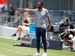CF Montreal head coach Wilfried Nancy reacts from the sideline on May 22, 2021