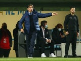 Croatia manager Zlatko Dalic on March 27, 2021