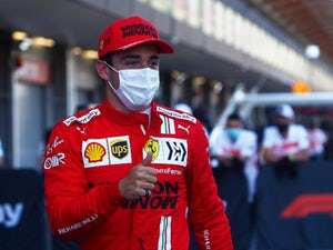 Charles Leclerc edges out Lewis Hamilton for Azerbaijan pole