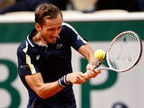 Daniil Medvedev pictured at the French Open on June 4, 2021