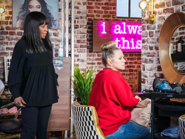 Denise and Linda on EastEnders on June 10, 2021