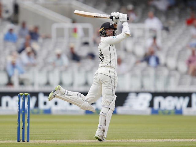 Devon Conway hits debut century for New Zealand