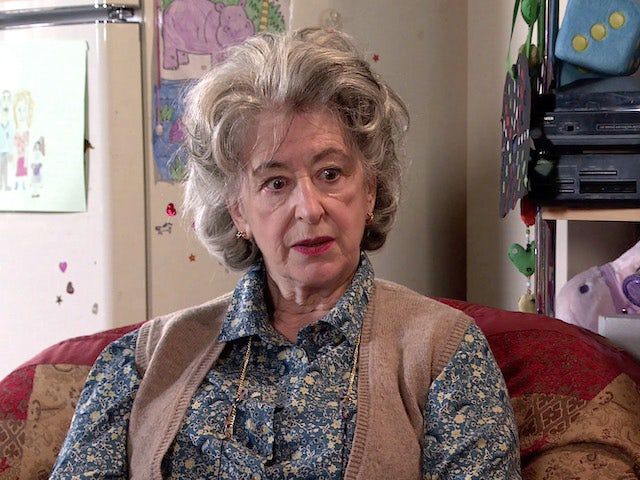 Evelyn on the second episode of Coronation Street on June 7, 2021
