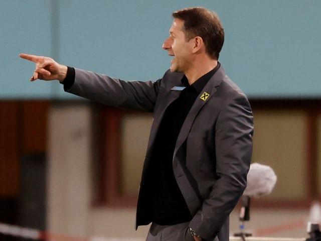 Austria coach Franco Foda on March 31, 2021