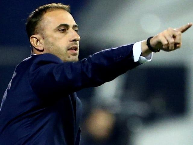 Bosnia-Herzegovina manager Ivaylo Petev pictured in November 2016